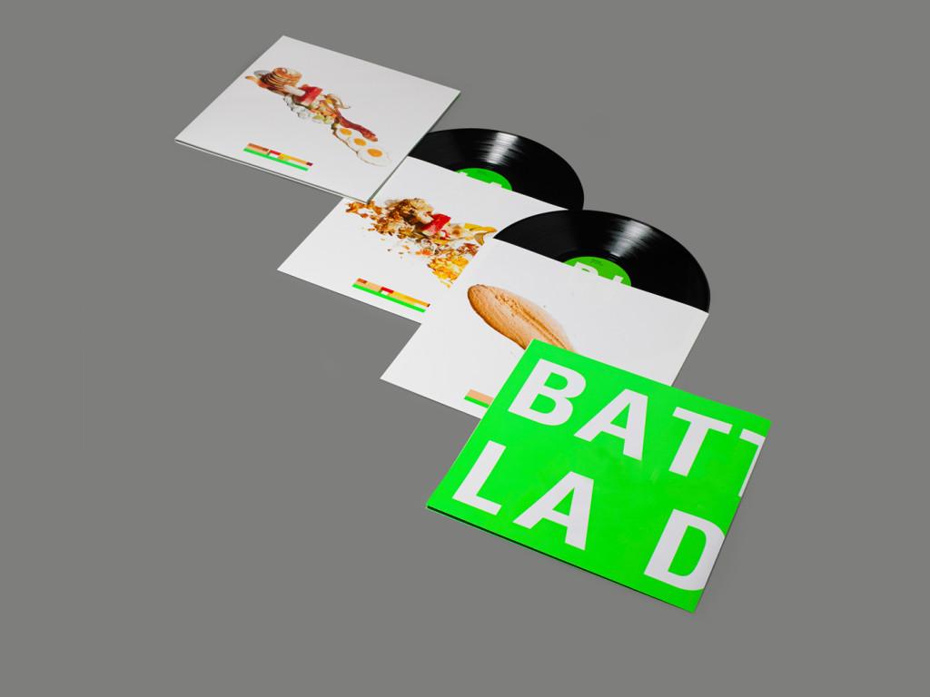 Battles La Di Da Di vinyl