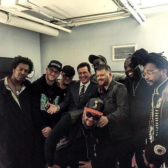 Run the Jewels Colbert Late Show