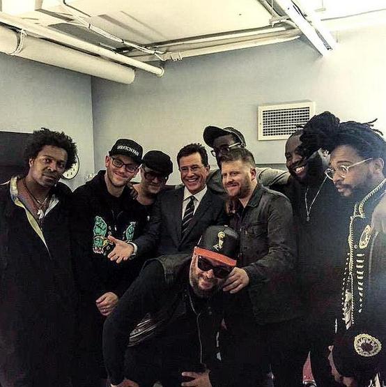 Run the Jewels Colbert Late Show