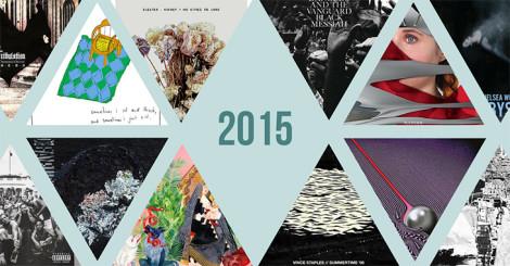 Titelbild von Treblezine: Top 50 Albums Of 2015