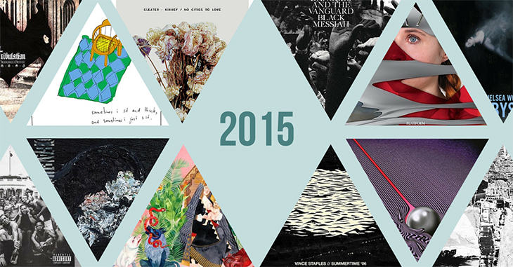 Top 50 Albums of 2015
