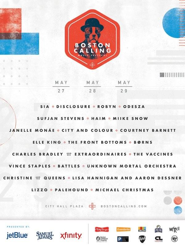Boston Calling spring 2016 festival