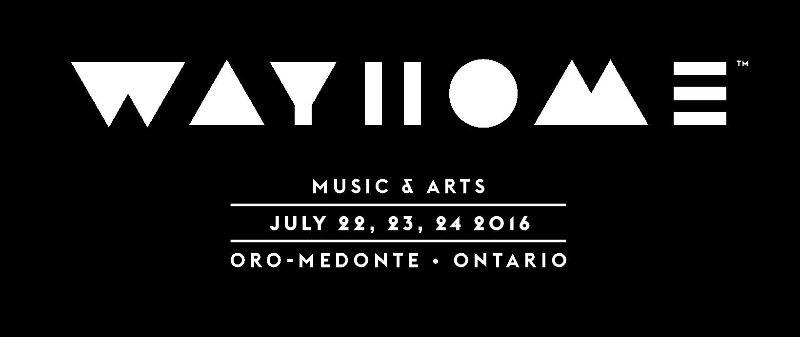 WayHome festival lineup