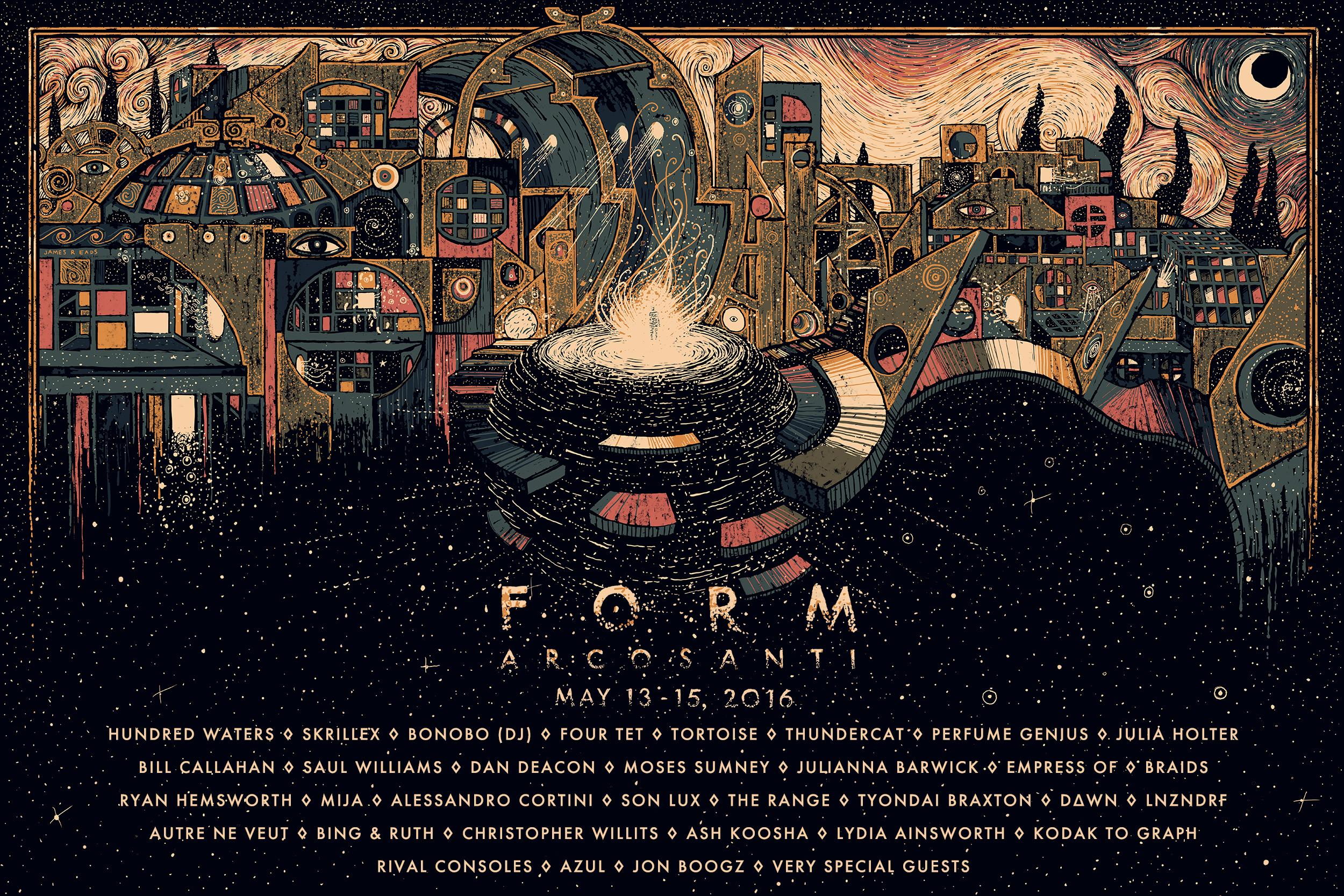 Form Acrosanti 2016 lineup