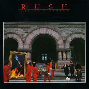 Rush Moving Pictures unauthorized political campaign songs
