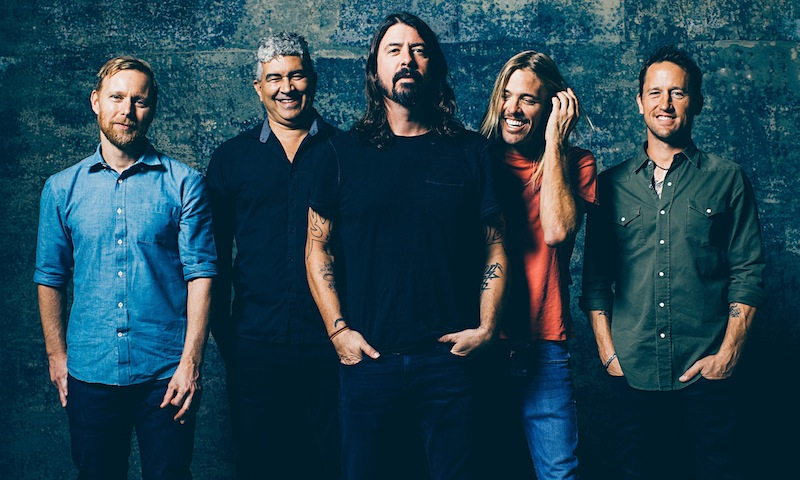 Foo Fighters Rock and Roll Hall of Fame