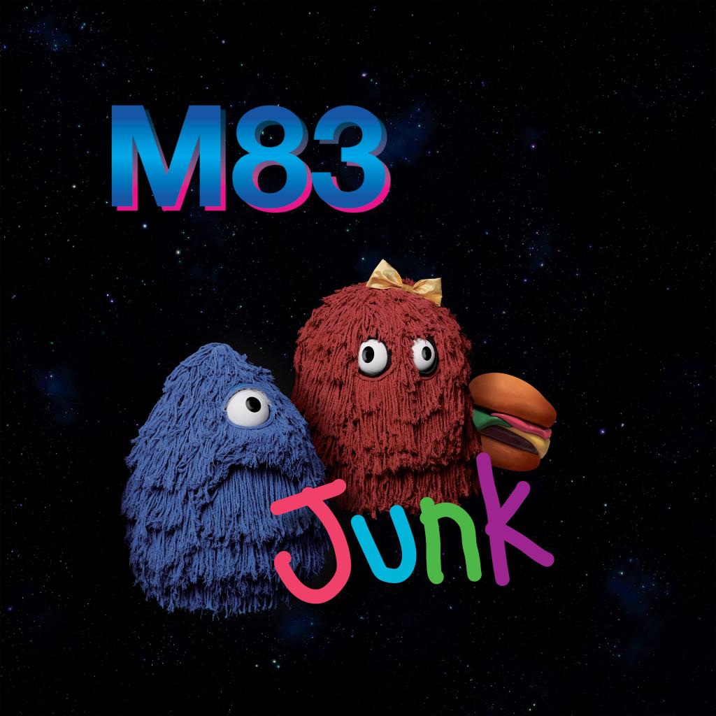 M83 Junk cover