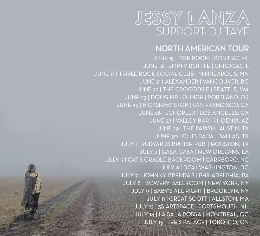 Jessy Lanza tour