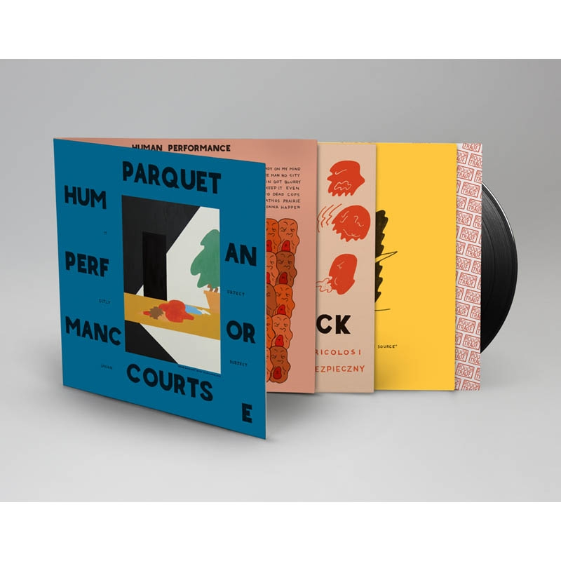 Parquet Courts Human Performance vinyl