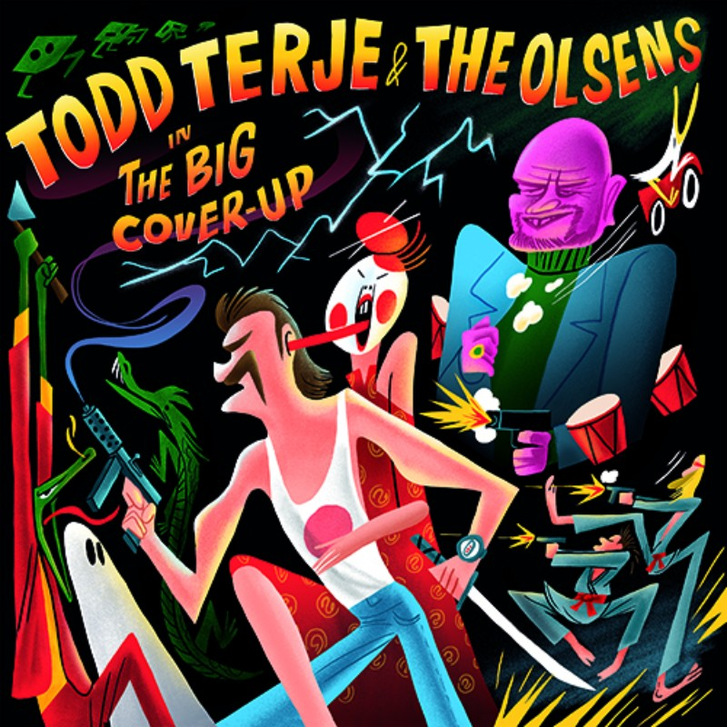 Todd Terje The Big Cover Up