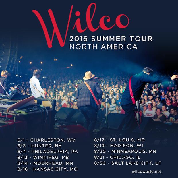 Wilco summer tour