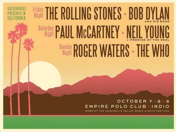 Rolling Stones Bob Dylan mega-concert