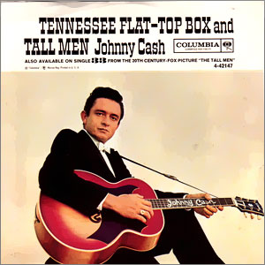 Johnny Cash songs about guitars