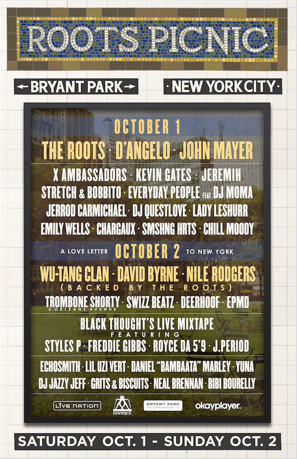 Roots Picnic NYC