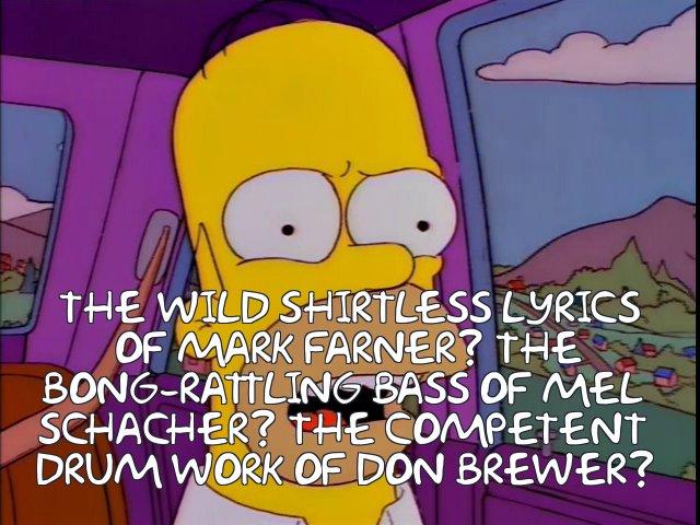 Homerpalooza Grand Funk