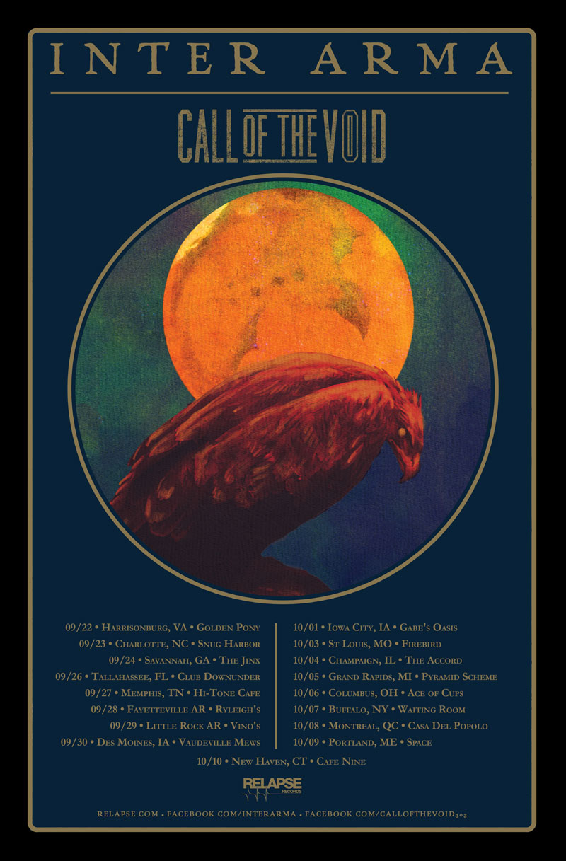 Inter Arma fall tour