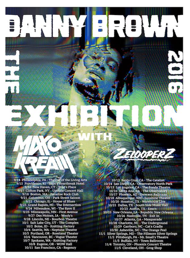 Danny Brown new album tour
