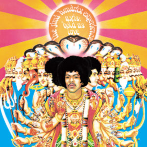 The Jimi Hendrix Experience Axis: Bold As Love HIGH RESOLUTION COVER ART