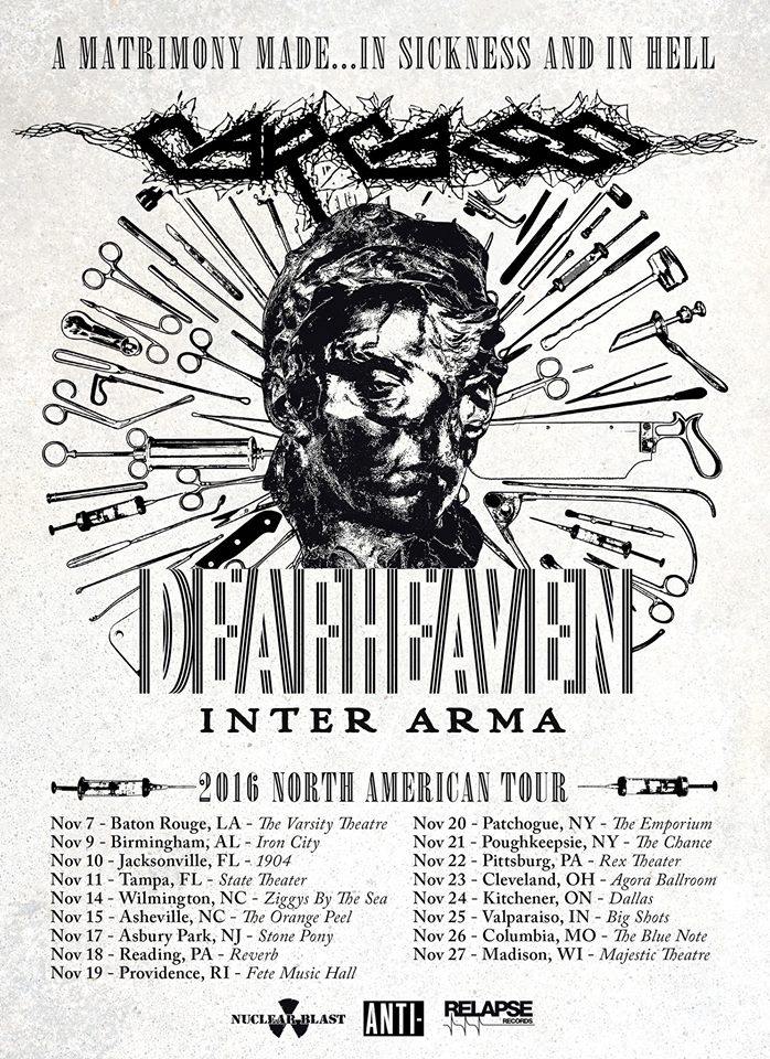Deafheaven tour dates