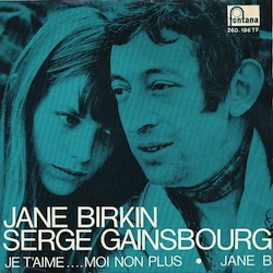 best songs of the 60s Gainsbourg