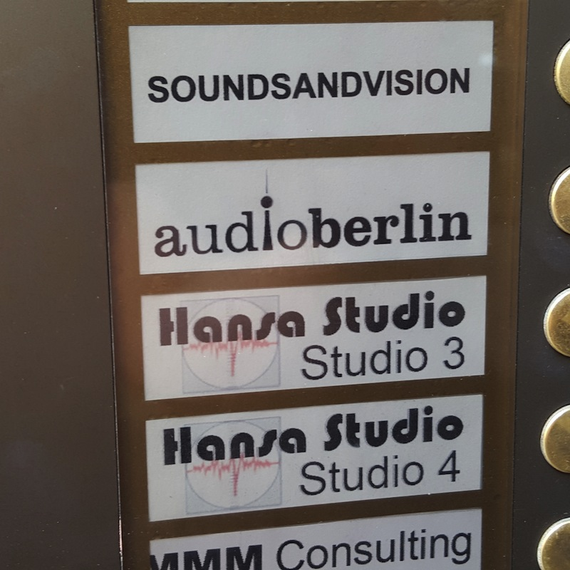 David Bowie's Berlin - Hansa Studio