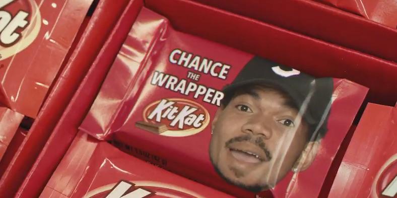 Chance the Rapper Kit Kat commercial