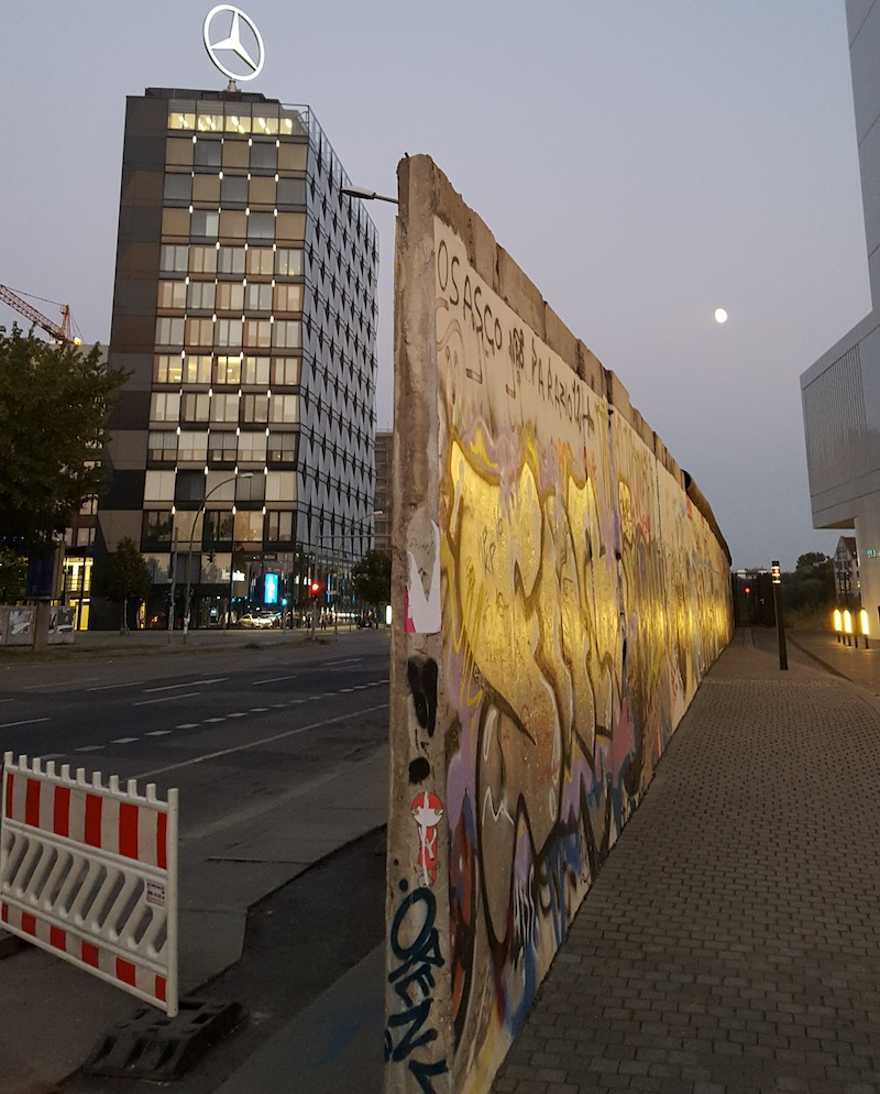 David Bowie's Berlin - Berlin Wall