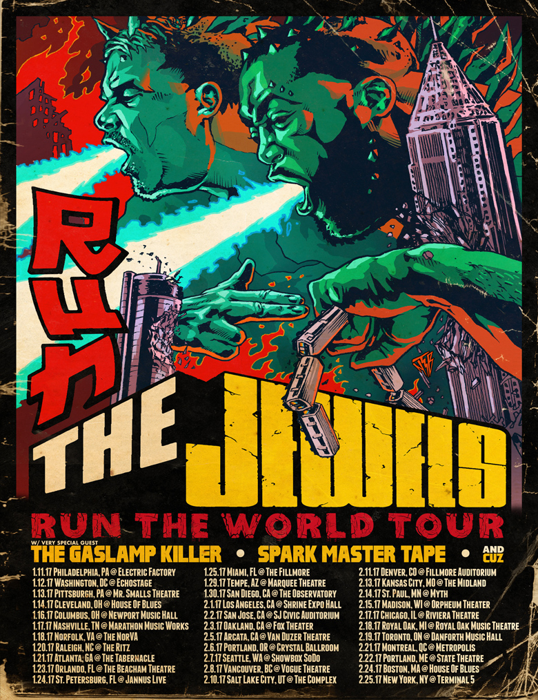 Run the Jewels tour