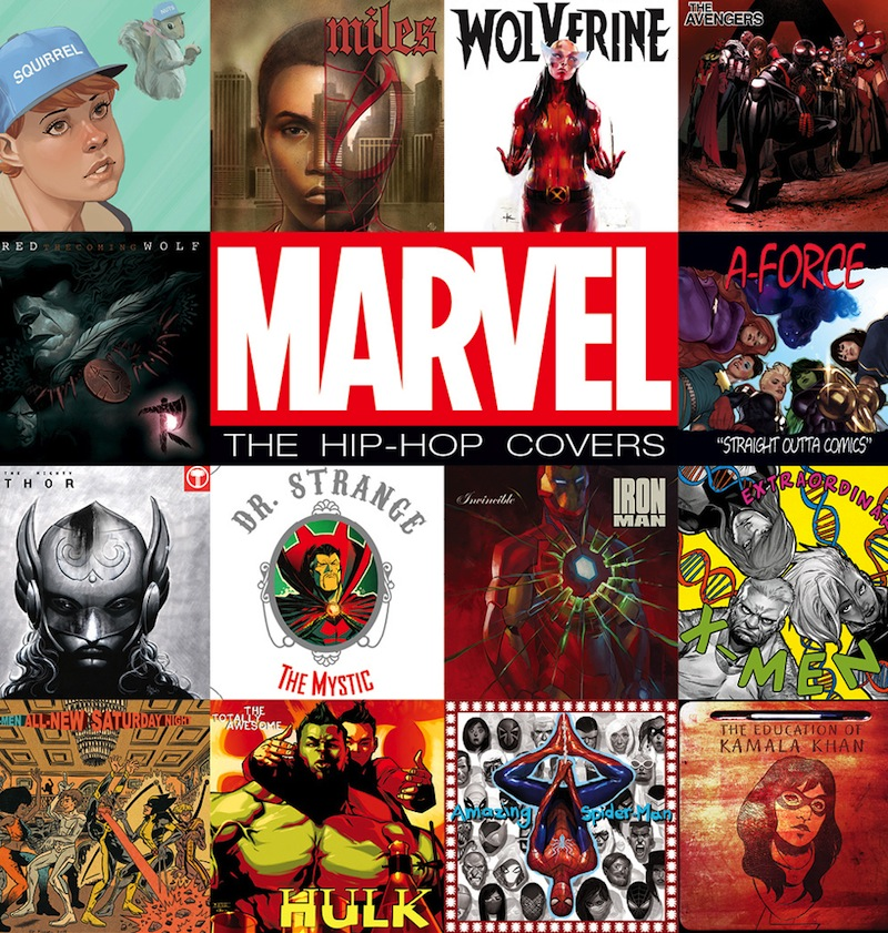 Holiday Gift Guide 2016 Marvel hip-hop covers