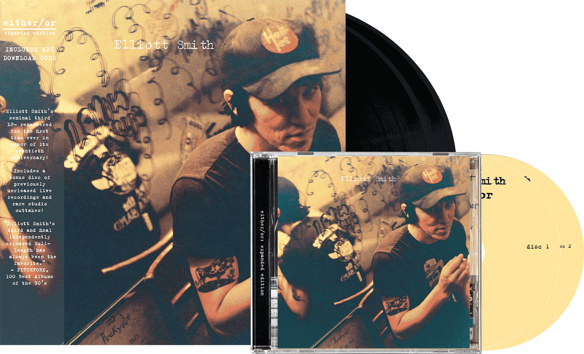 Elliott Smith either/or expanded reissue