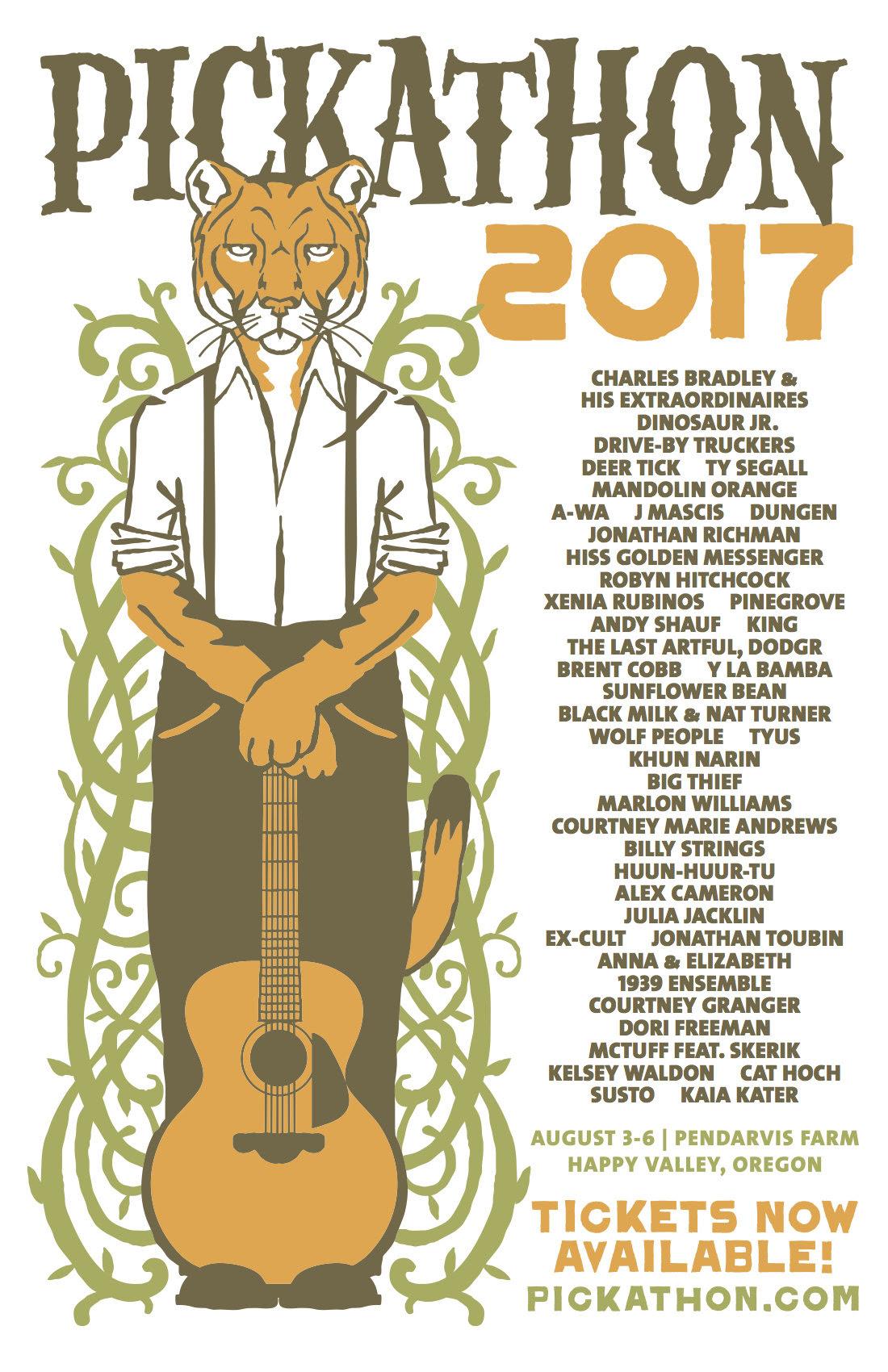 Pickathon lineup 2017