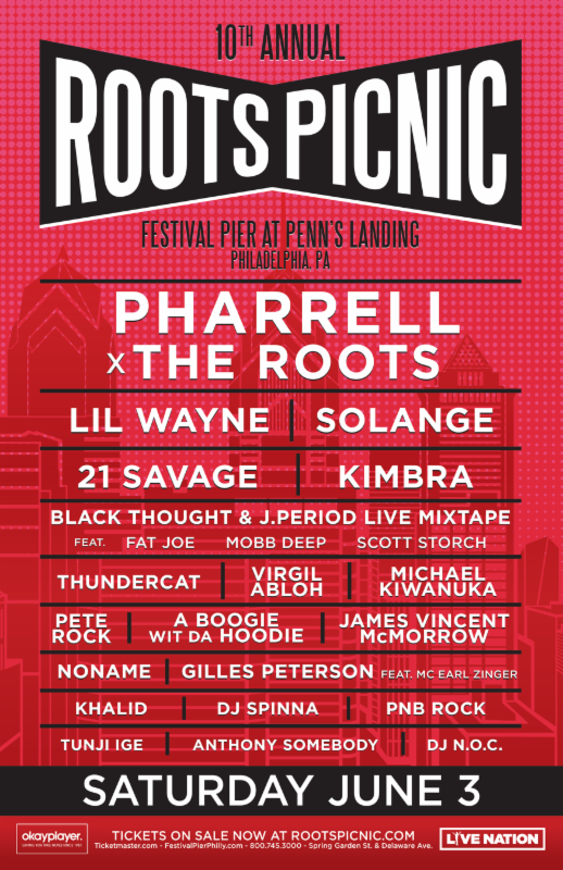 The Roots Picnic 2017 lineup
