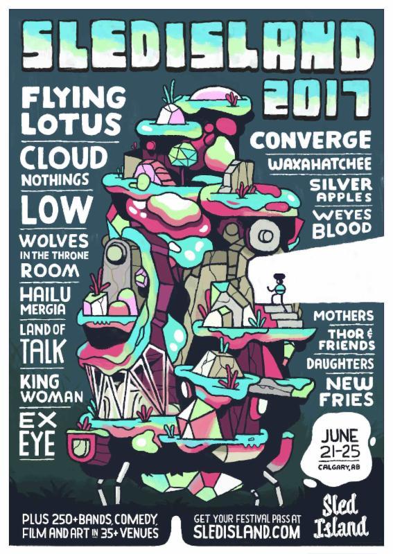 Sled Island 2017 lineup