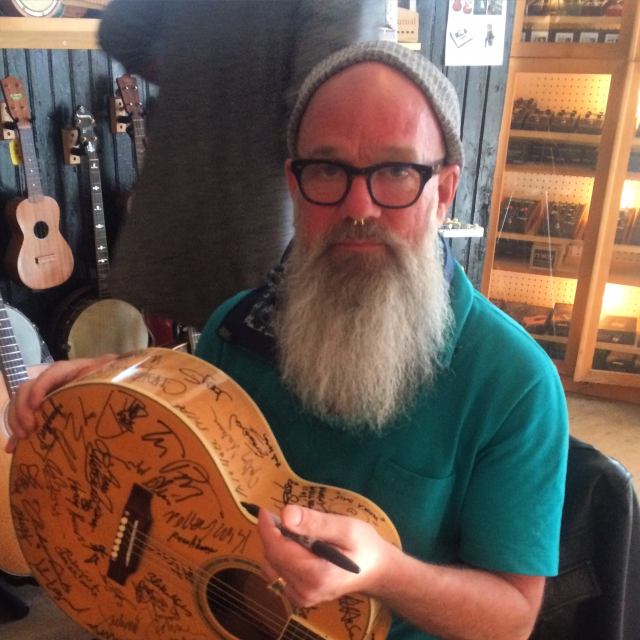 Michael Stipe Planned Parenthood guitar raffle