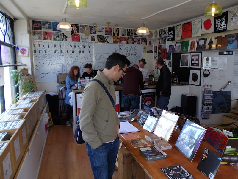 record store experience