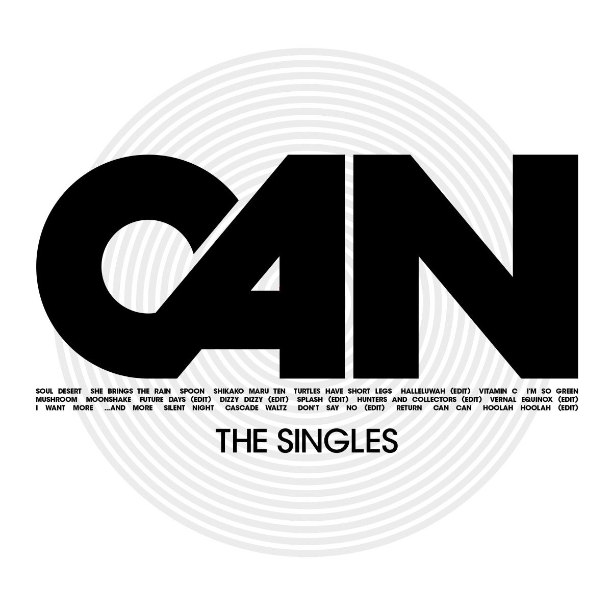 Can announces singles compilation, Can—The Singles