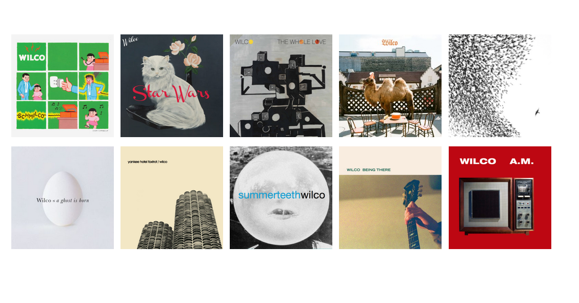 Wilco albums Solid Sound