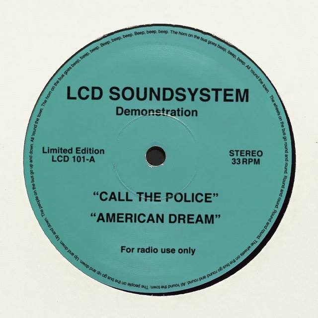 LCD Soundsystem new songs Call the Police