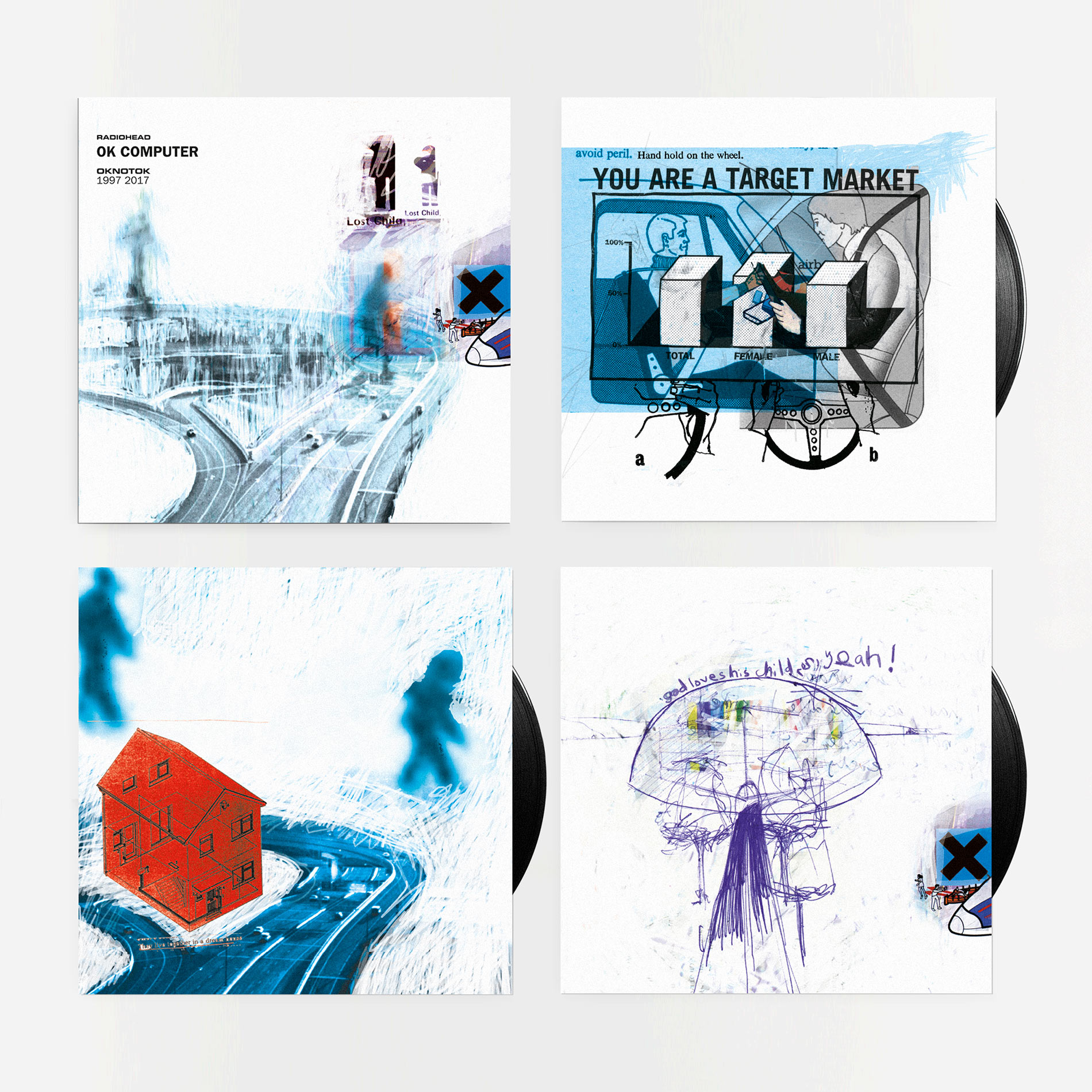 Radiohead OKNOTOK vinyl