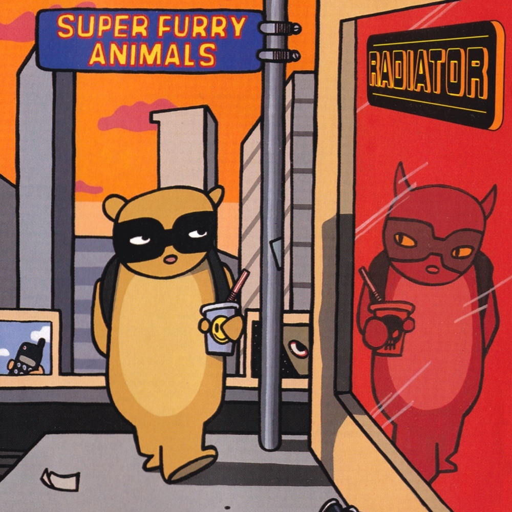 Super Furry Animals Radiator reissue