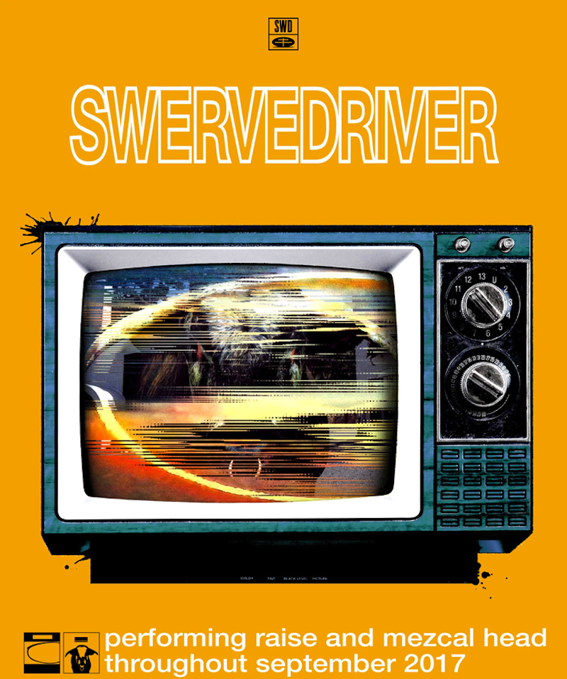 Swervedriver 2017 tour dates