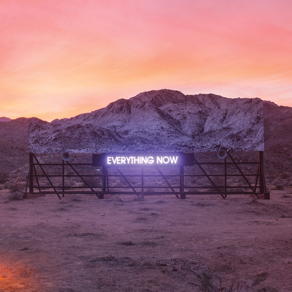 Arcade Fire new album Everything now