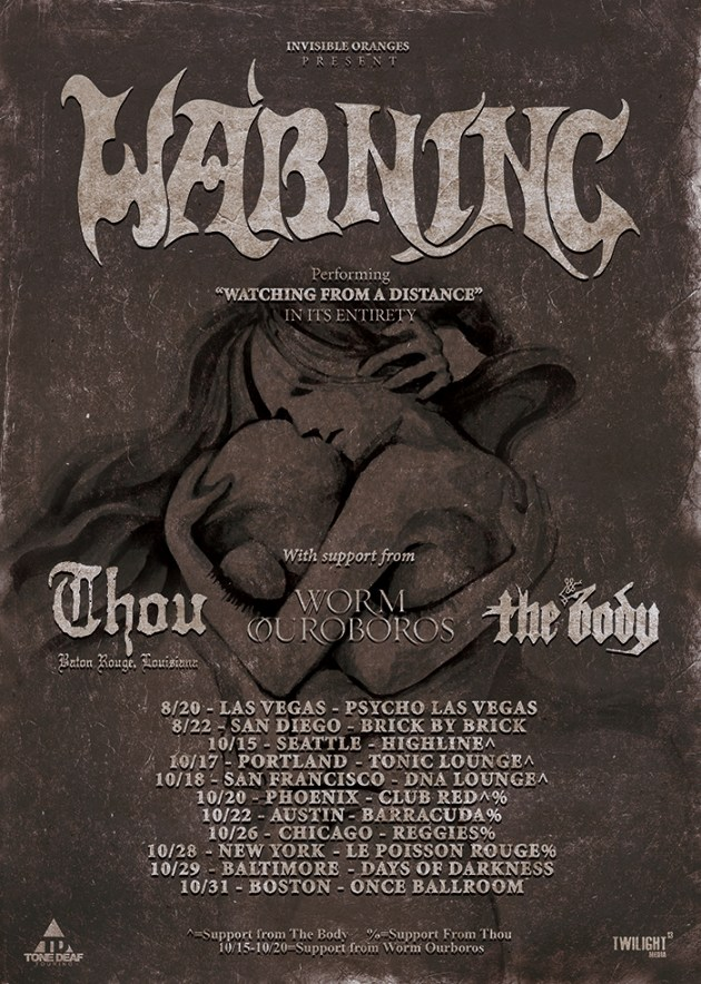 Warning US tour