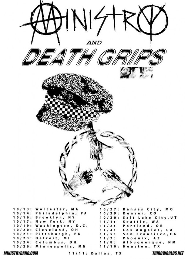 Ministry Death Grips tour