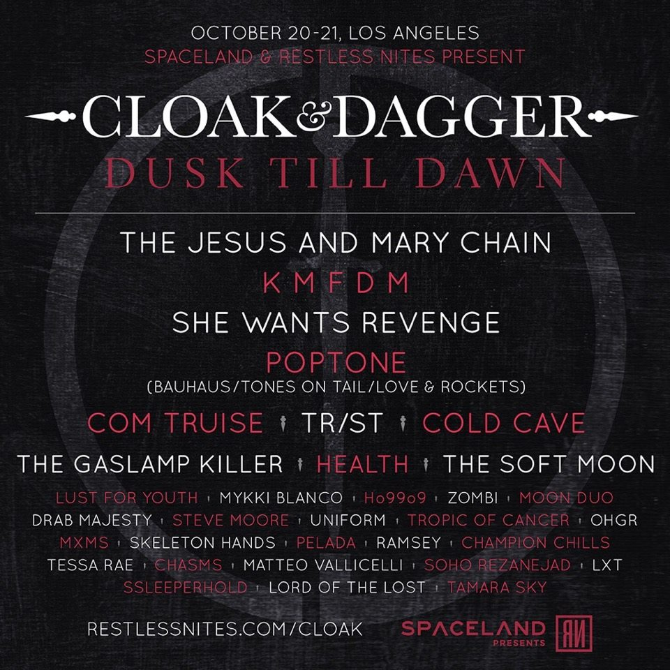 Cloak and Dagger festival 2017