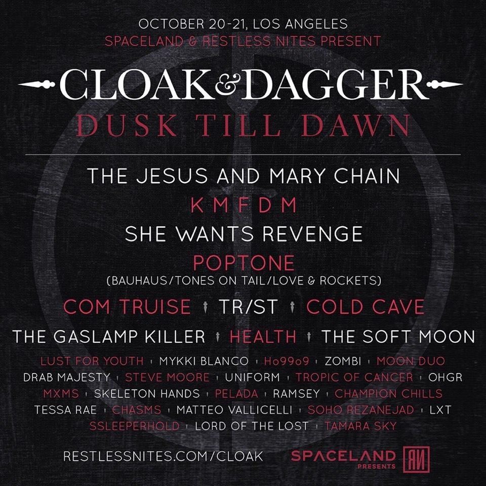 Cloak and Dagger festival 2017