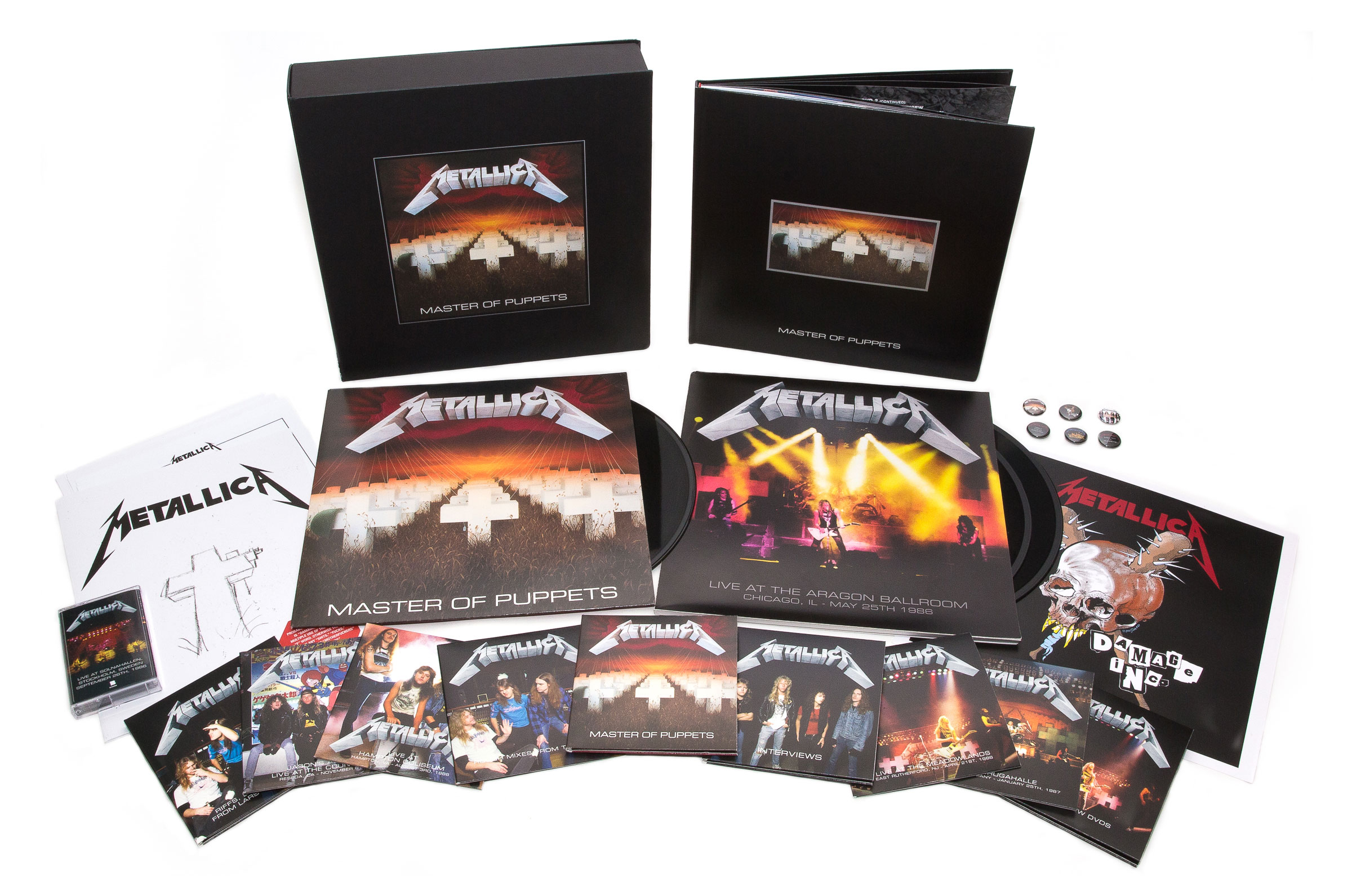 Metallica Master of Puppets reissue