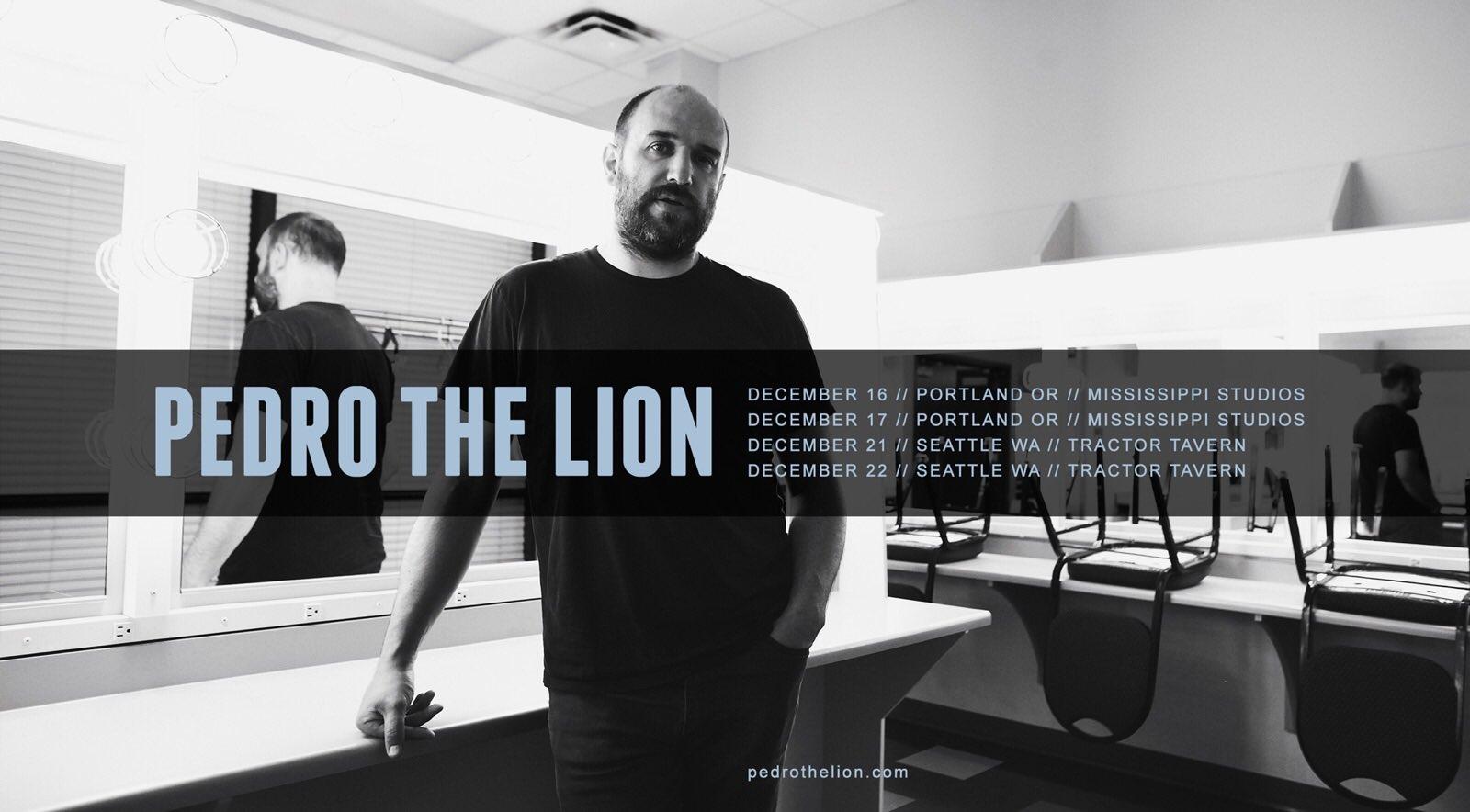 Pedro the Lion reunion tour