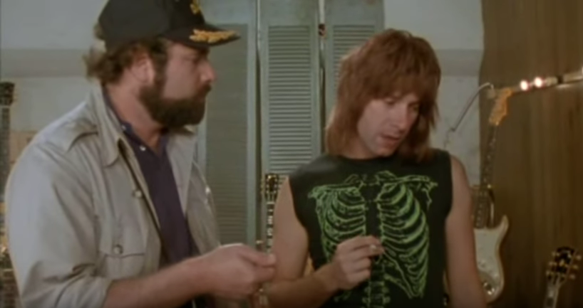 Spinal Tap director's commentary