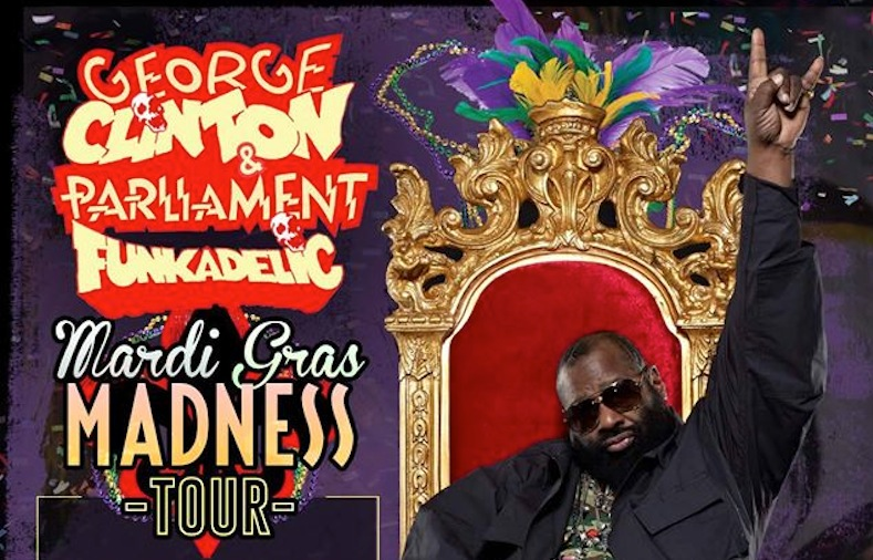 George Clinton tour dates